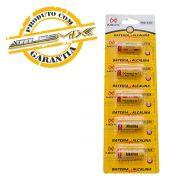 Bateria 23a 12v Alcalina Mox 5 unid. Controle Alarme Portão