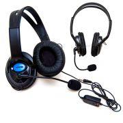 Headset Fone De Ouvido Com Microfone Ps4 Playstation Skype