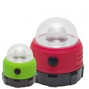 Luminária Portátil Mini Lampião 1w Led Gancho Imã Camping