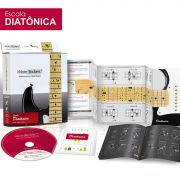 Adesivos Note-stickers Guitarra Violão Aço Escala Diatônica