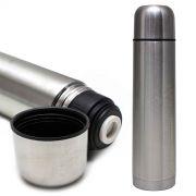 Garrafa Térmica Aço Inox 1l Vacuum Flask Camping Squeeze