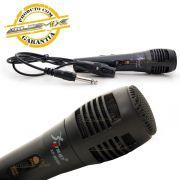 Microfone Metal Preto Knup
