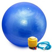 Bola Pilates Yoga Abdominal Ginastica Fitness 65cm C  Bomba 9acb0ad6cd662