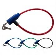 Cadeado Para Bicicleta com Chave Corrente 47cm Moto Aço