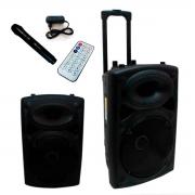 Caixa De Som Bluetooth Amplificada Bivolt Rádio