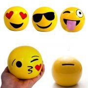 Cofre Emoticons Emoji Zap Decorativo Cofrinho Moedas Notas