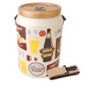 Cooler Termico 24 Latas Vintage Creme