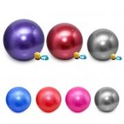 Kit 3 Bolas Pilates Gym Ball 75cm 65cm 55cm Ginástica