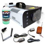 Máquina Fumaça Rgb 8 Leds 1500w Controle Iluminação