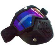 Máscara Óculos Motociclista Motocross Moto Capacete Bike