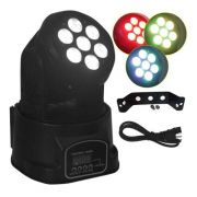 Mini Moving Head 7 Leds 10w Quadriled Rgbw Dmx Festa