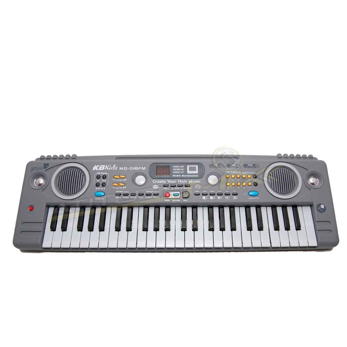 Teclado Piano Musical Infantil Sons Eletronicos Radio FM