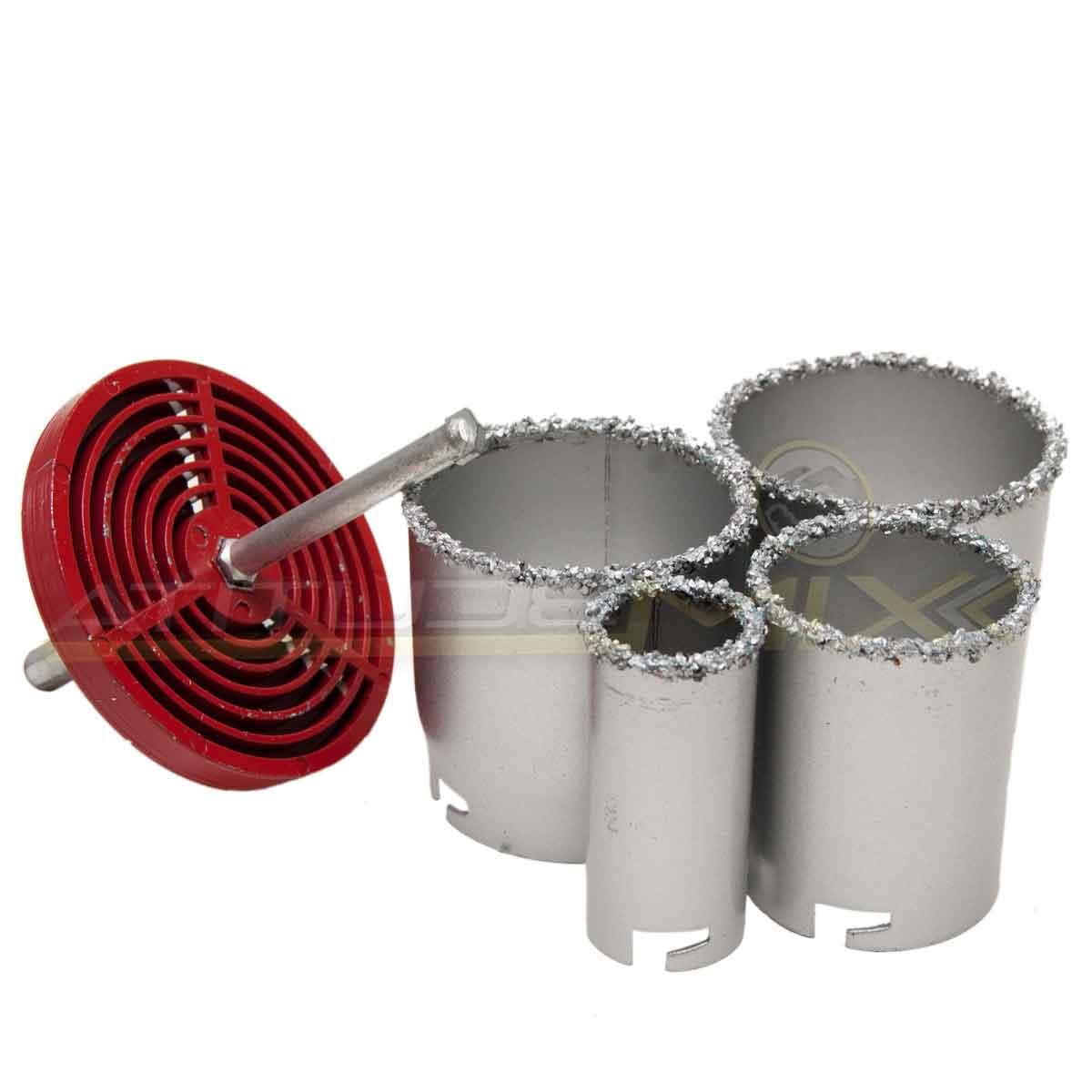 Conjunto De Serra Copo Tungstênio 6 Pçs Concreto Pisos Ferro