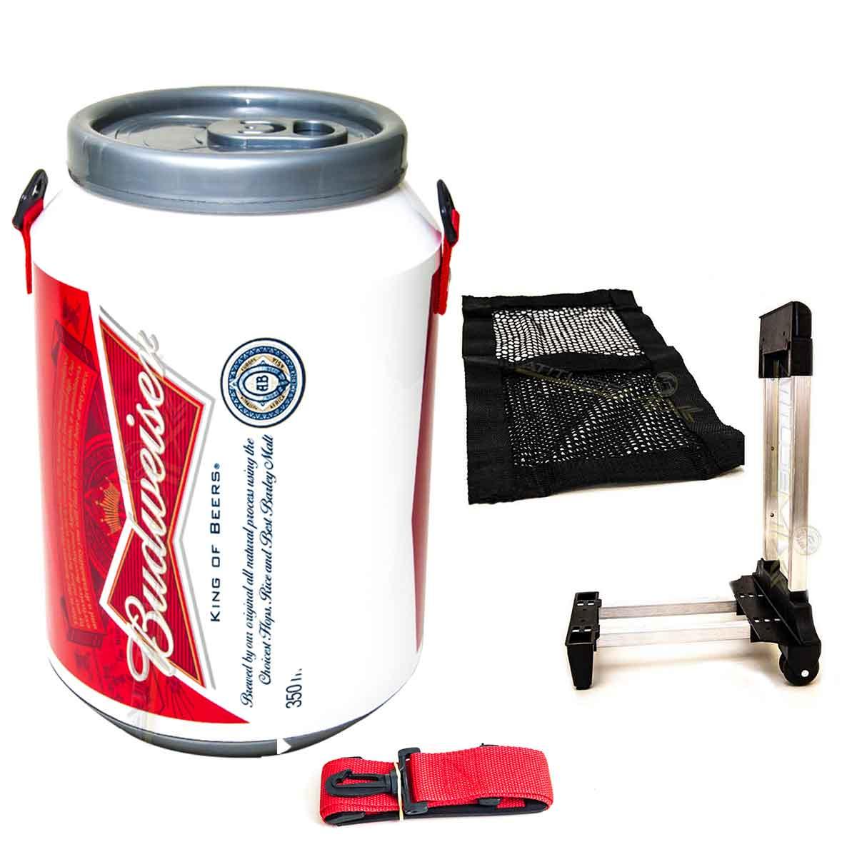 Cooler Térmico 24 Latas 350 Ml Budweiser E Leva Cooler Dc 24