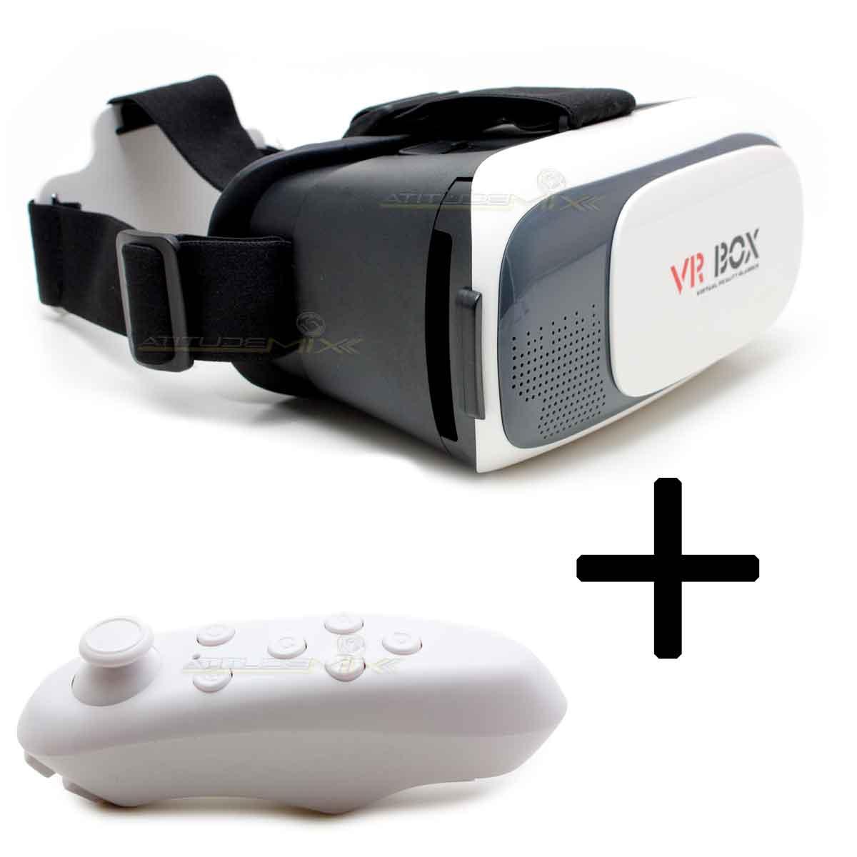 Óculos Cardboard 3d Realidade Virtual Android Ios Vr Box