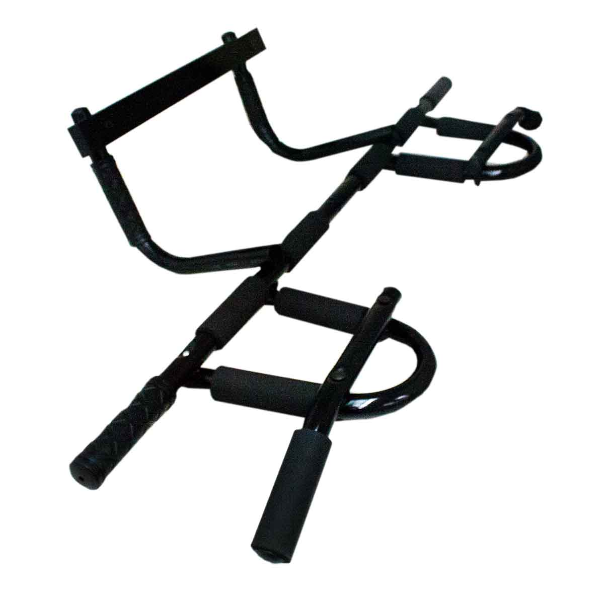 Barra Porta Iron Gym Apoio Flexão Multifuncional Fixa Treino