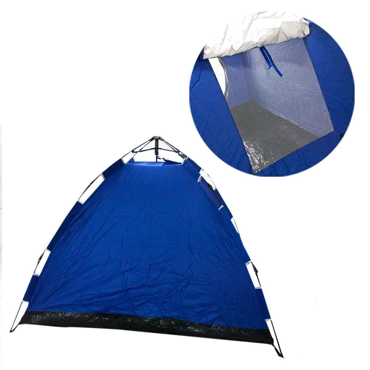 Barraca Camping 4 Pessoas Monta Sozinha Automática Dobrável Bolsa