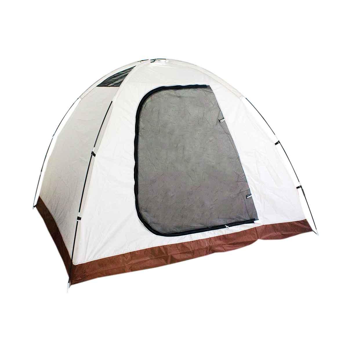 Barraca Camping 6 Pessoas Iglu Tenda Bolsa Acampamento 240cm