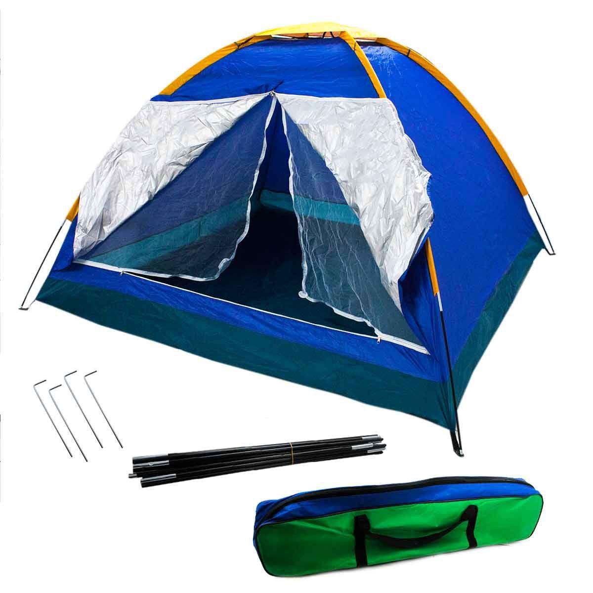 Barraca Camping Iglu Tenda 5 Pessoas Acampamento Praia Bolsa