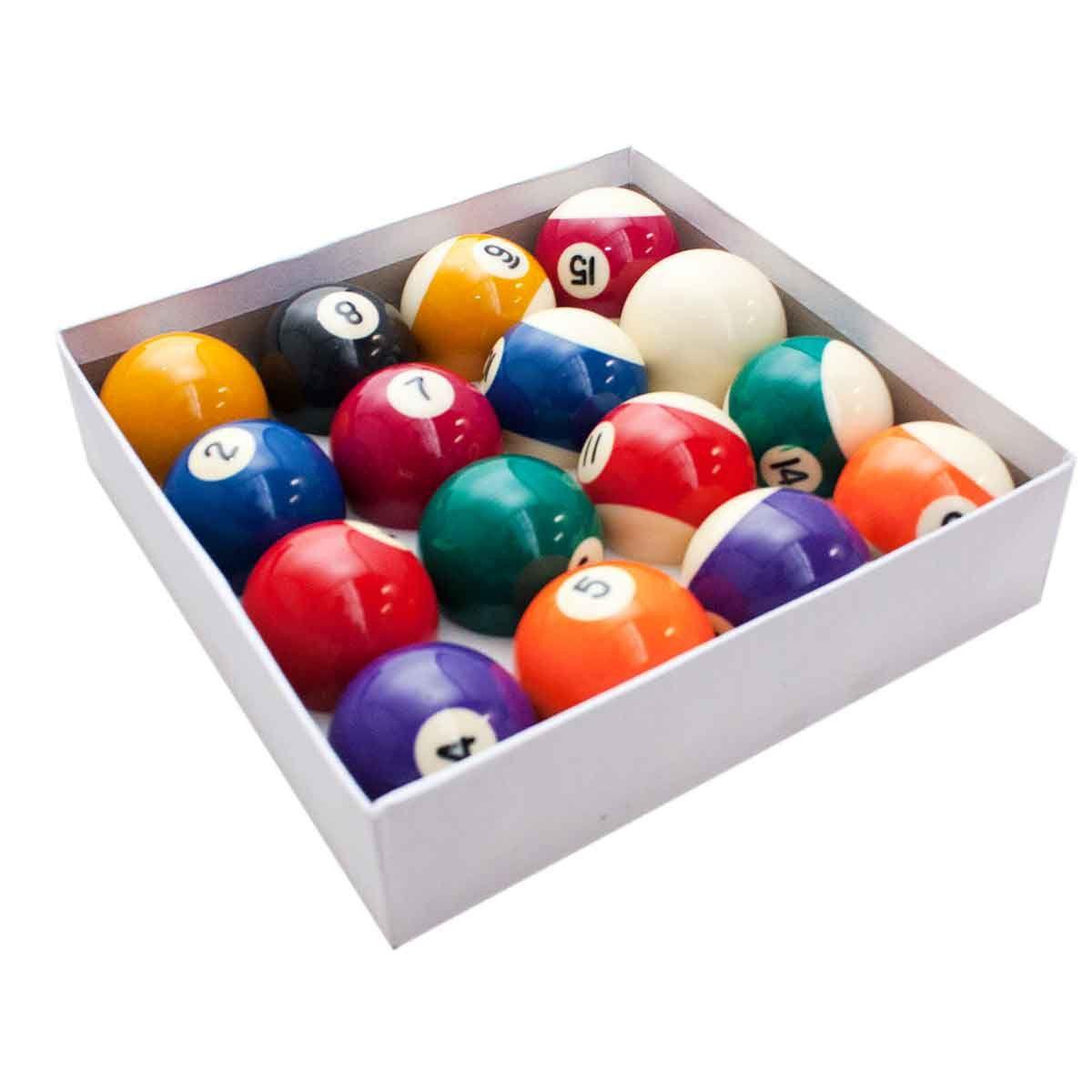 Bola Bilhar Snooker Sinuca 16 Bolas 57-60mm Jogo Numeradas