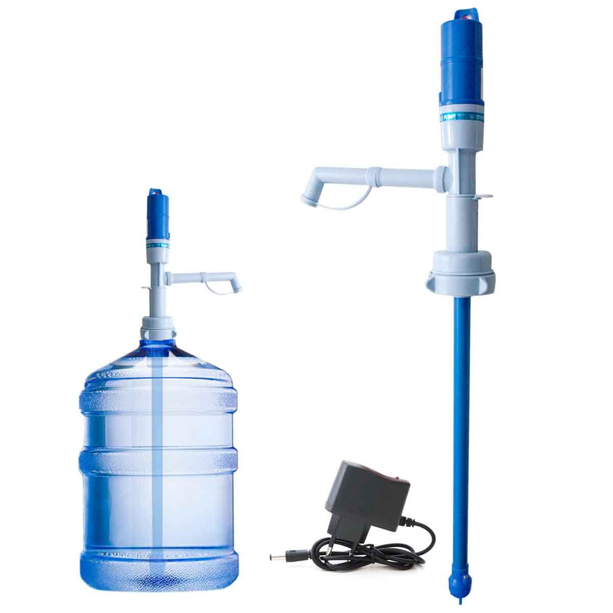 Bomba Elétrica Recarregável P/ Garrafão Água Galão 20 Litros