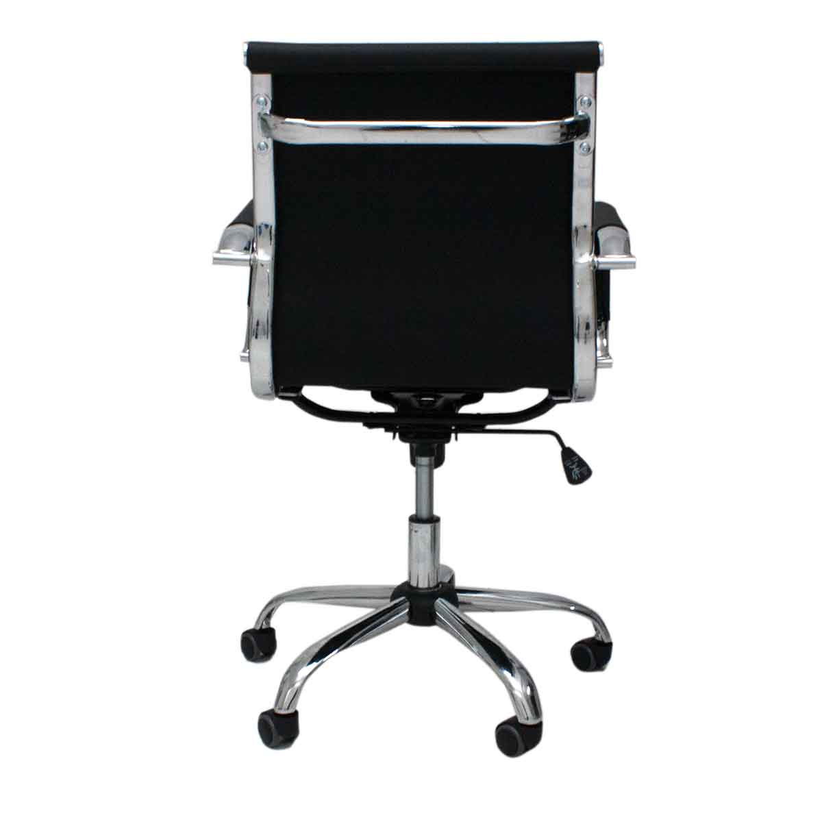 Cadeira Escritório Brun Charles Eames Diretor Aço Giratória