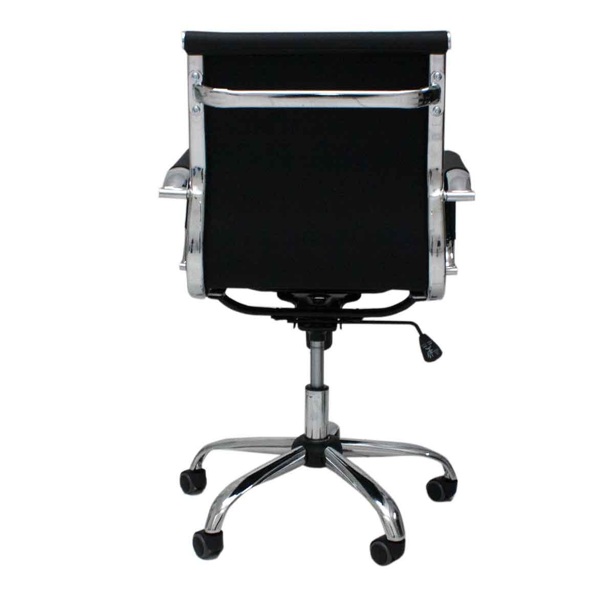 Cadeira Escritório Brun Charles Eames Diretor Giratória Aço