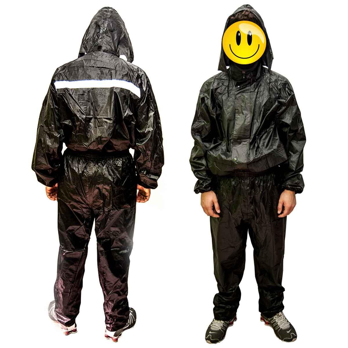 Capa de Chuva Para Motoqueiro Impermeável Calça e Blusa