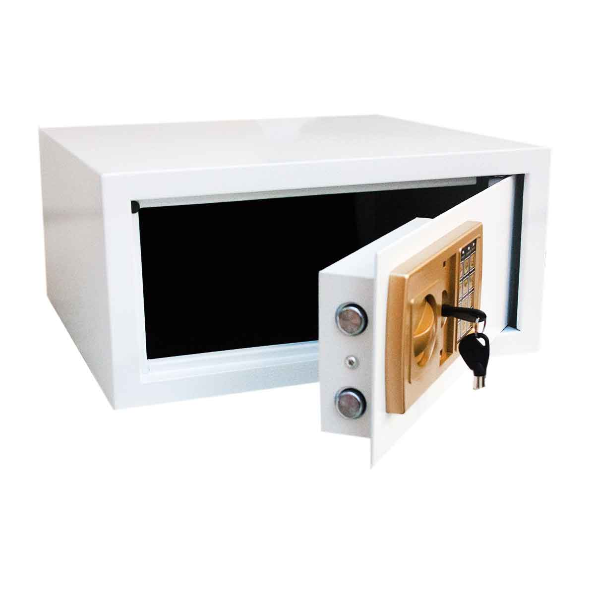 Cofre Eletrônico Digital Senha Grande Segredo 43x33x20cm Chave