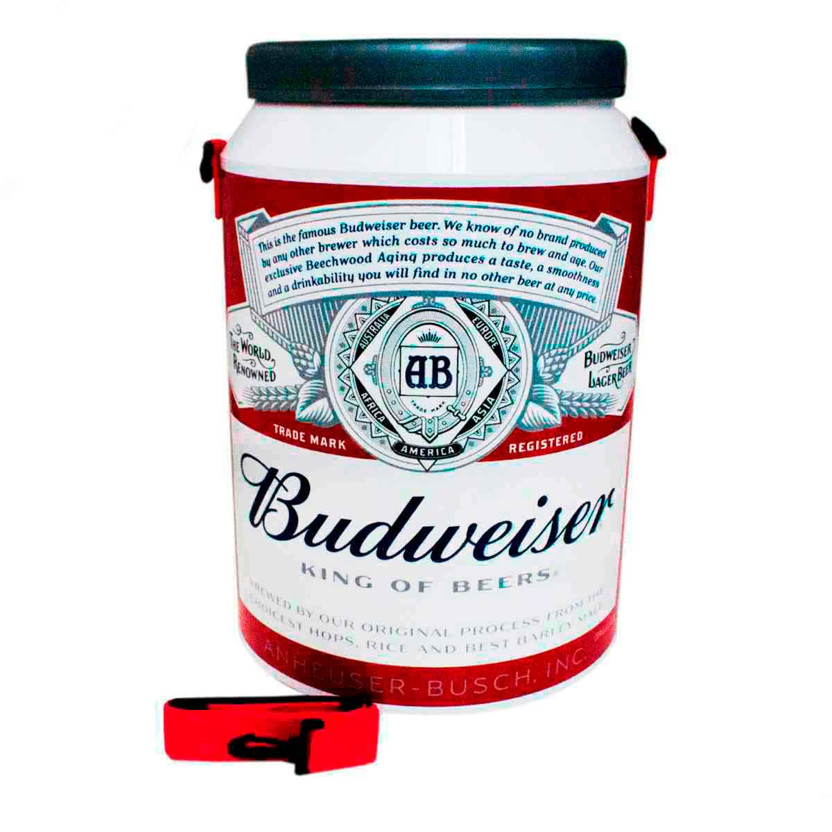 Cooler Térmico 24 Latas 350 Ml Cerveja Budweiser