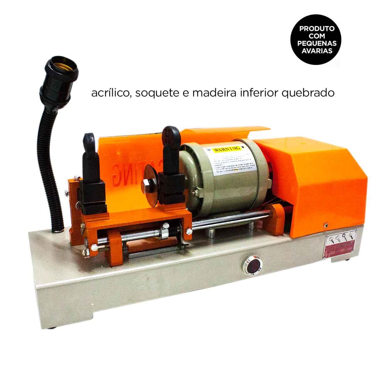 Copiadora De Chaves Máquina 120w Automática Manual AVARIAS