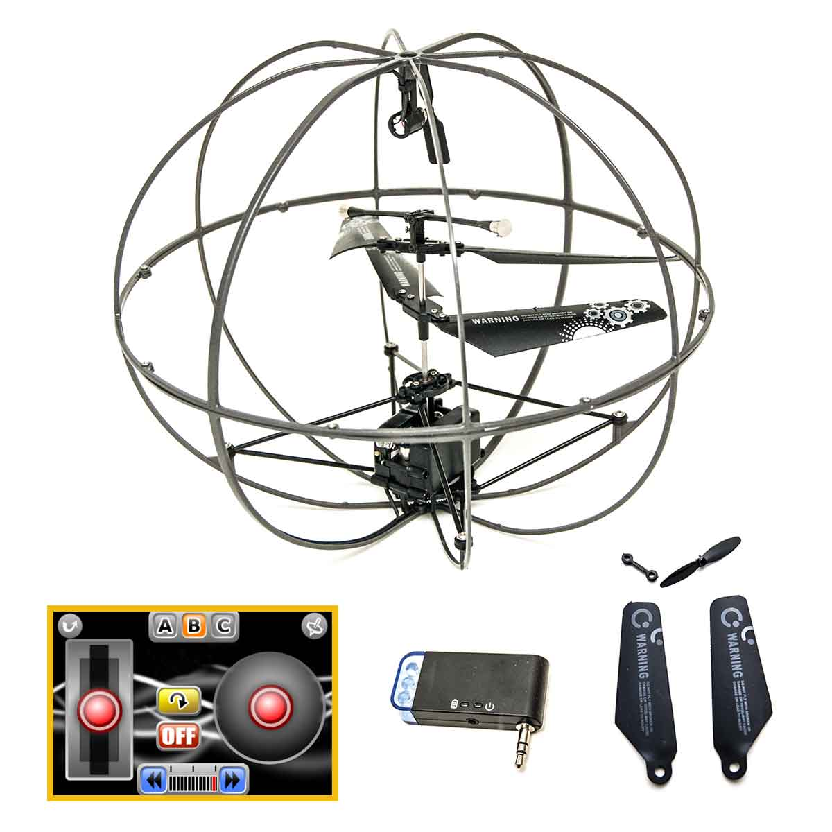 Drone I Ufo 3 Canais 6 Metros De Alcance Iphone Ipad Ipod