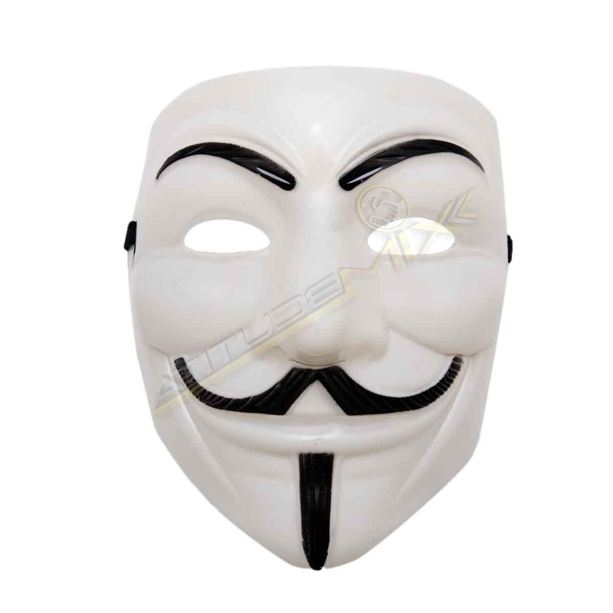 Kit 7 Máscaras V De Vingança - Anonymous Vendetta Guy Fawkes
