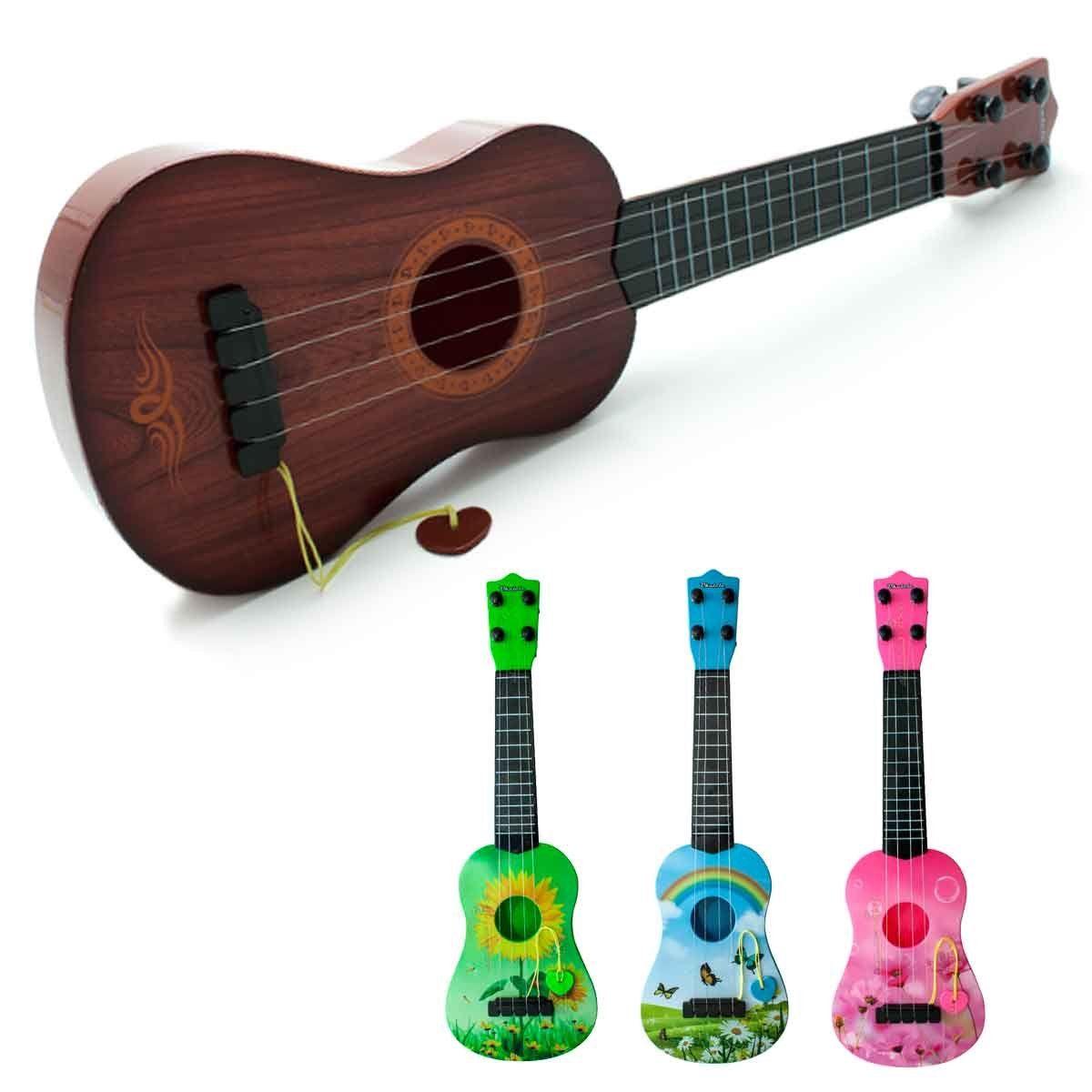 Mini Violão Infantil Brinquedo Crianças Cavaco Ukulele