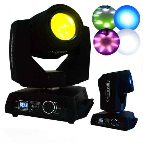 Moving Head Beam 200w Bivolt Dmx 5r Spot Led Festa Balada
