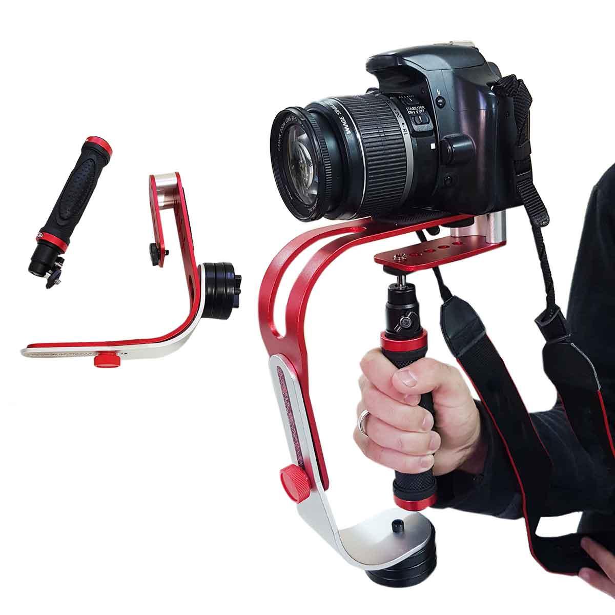 Steadycam Estabilizador Imagem Gopro Câmera Dsl Celular