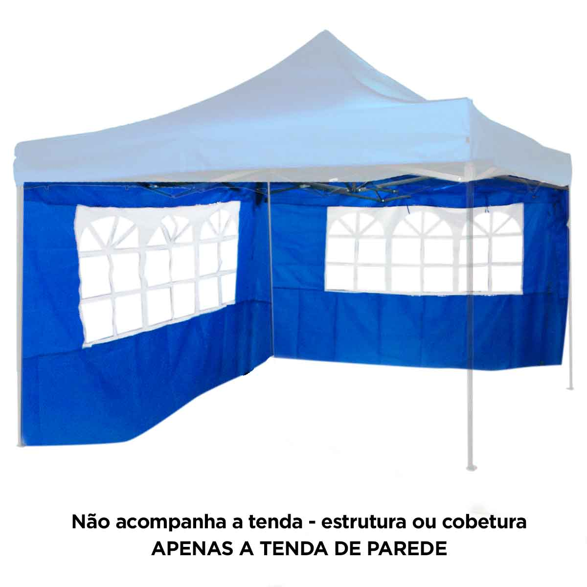 Tenda De Parede Para Gazebo Dobrável Lateral Praia Camping