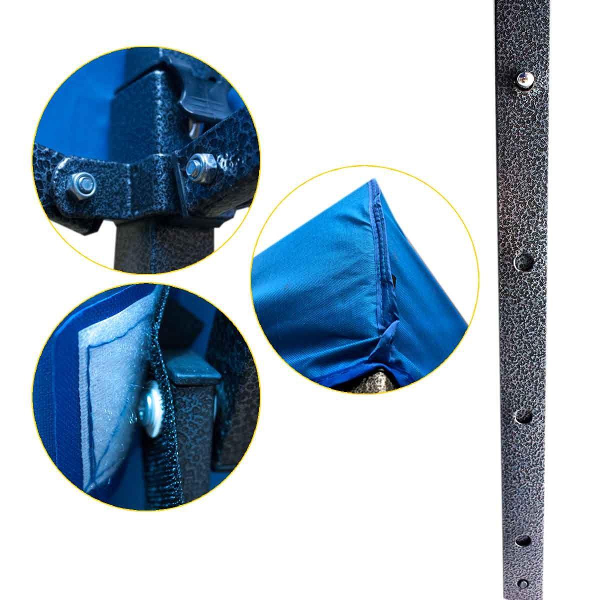 Tenda Gazebo 3x3 Poliéster Articulada Dobrável Camping Praia