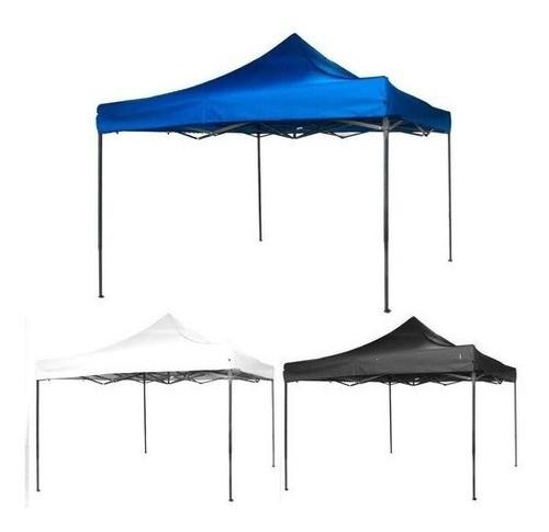 Tenda Gazebo 3x3 Poliéster Articulada Dobrável Camping Praia AVARIA