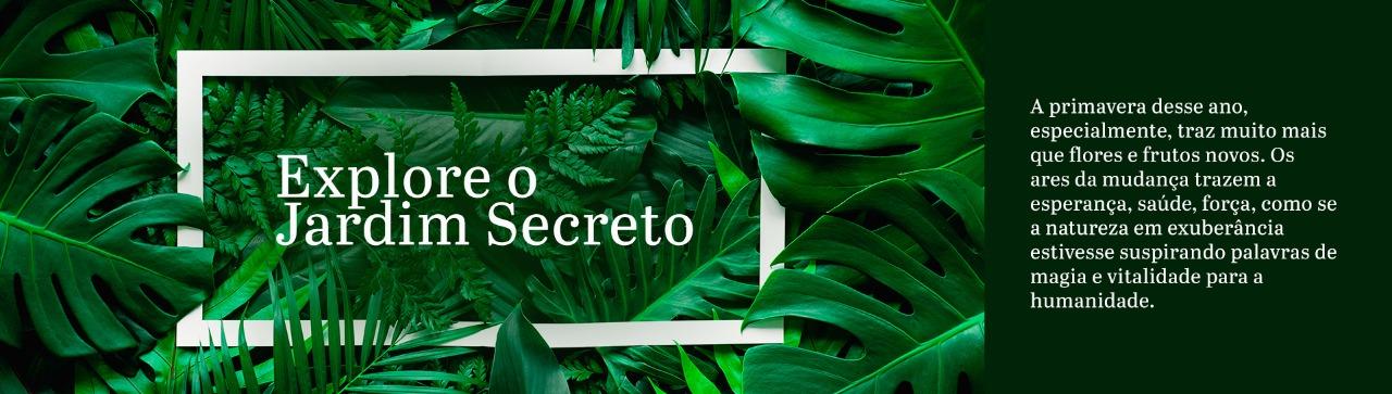 Explore o Jardim Secreto