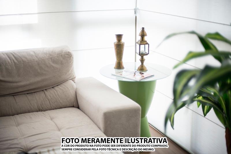 BANQUETA CARBO ASSENTO CRISTAL BASE COLOR VERDE