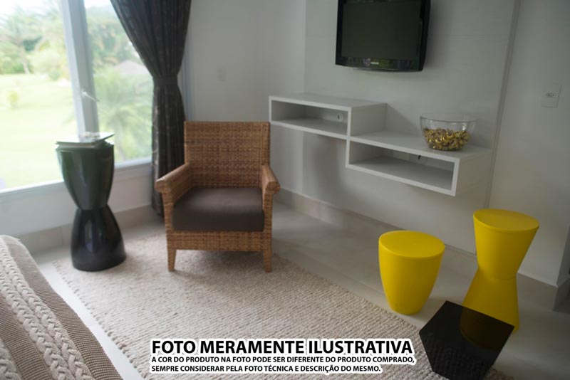 BANQUETA DUB COLOR PRETA