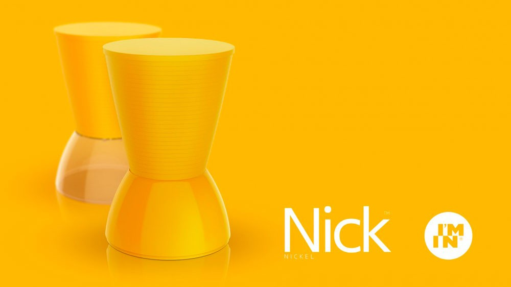 BANQUETA NICK COLOR AMARELA