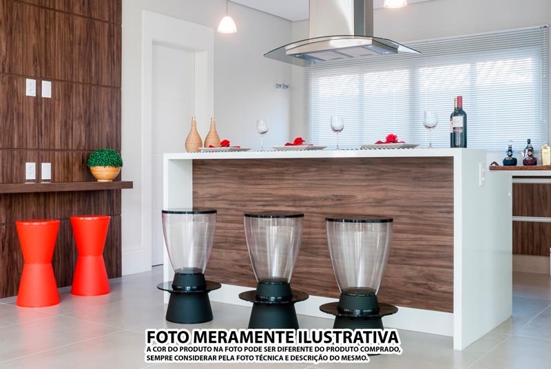 BANQUETA TIN ASSENTO CRISTAL BASE COLOR ROXA