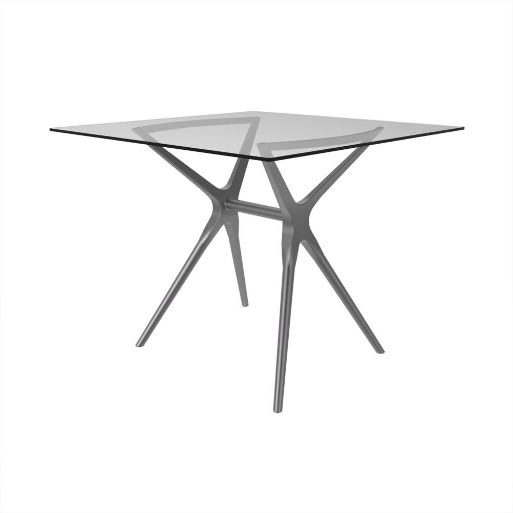 Base de mesa Baletto 4 lugares prata