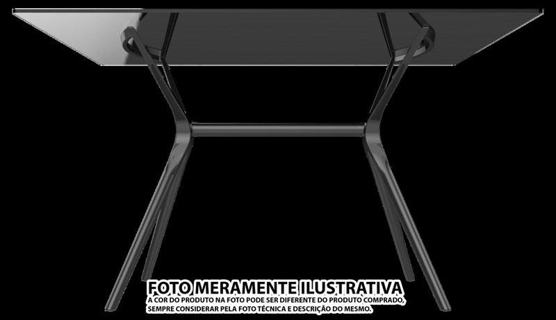 BASE PARA MESA BALETTO 06 LUGARES PRETA