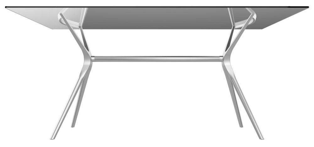 Base de mesa Baletto 08 lugares prata