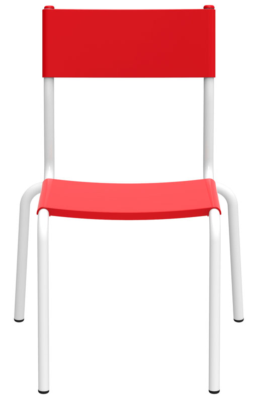 Cadeira infantil Tutti bambino vermelha