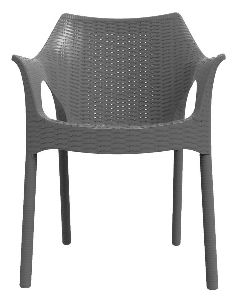 Cadeira Relic cinza concreto