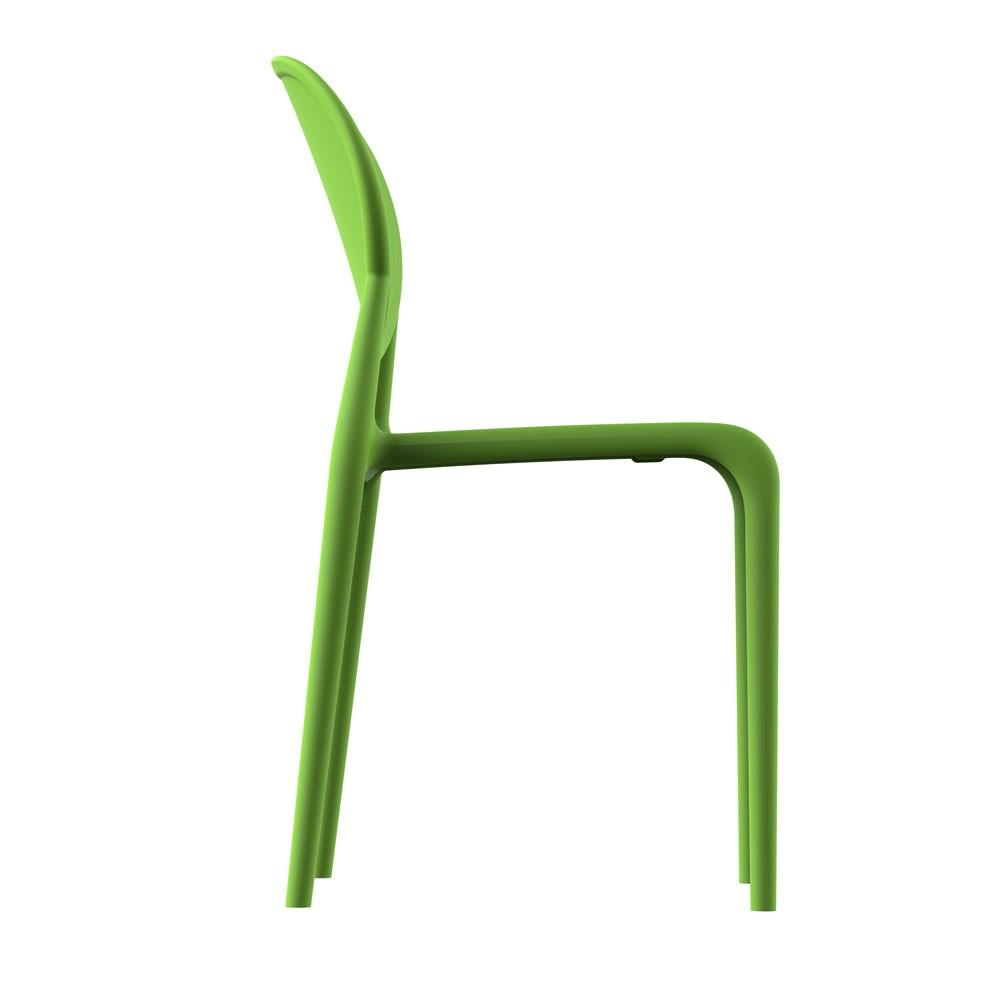 Cadeira Slick sem braço verde